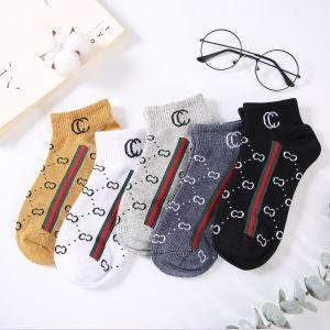 SDK009 Pack of 5 Big CC ankle socks