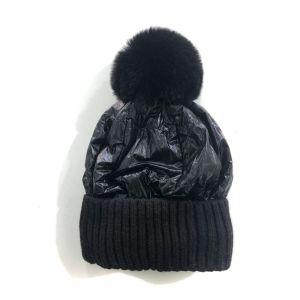 SD57 Duvet puffer hat in Black