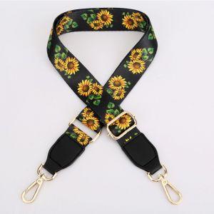 HST001 Sunflower Black  (Gold toned)