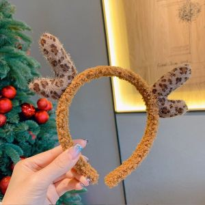 HACH604  leopard Antlers chocolate