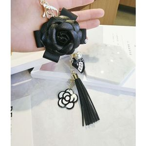 3018 Black leather Rose
