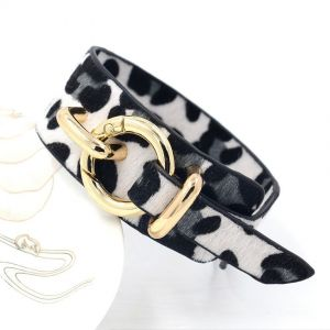 ERO044 Black White leopard
